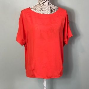The Limited cuffed sleeve blouse size medium